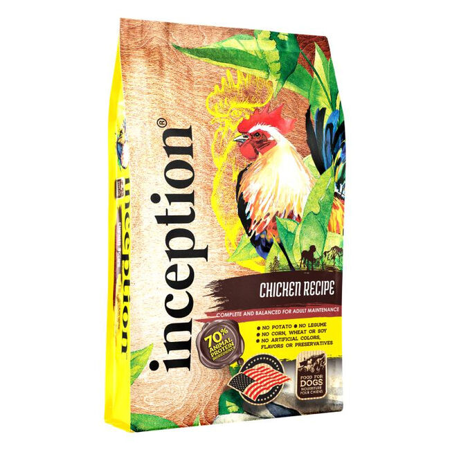 Inception Pet Food Chicken Recipe Dry Dog Food image number null