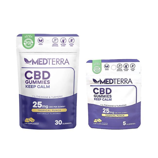MedTerra CBD Keep Calm Gummies image number null