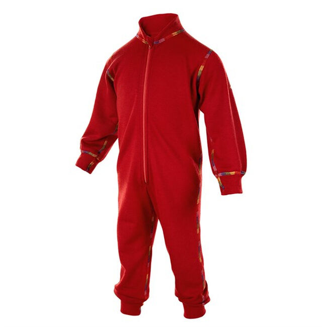 Janus Baby/Toddler Playsuit Wool Blend - Red image number null