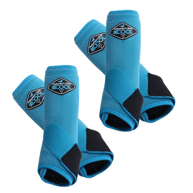 Professional's Choice 2XCool Sports Medicine Boots Value 4 Pack - Pacific Blue image number null