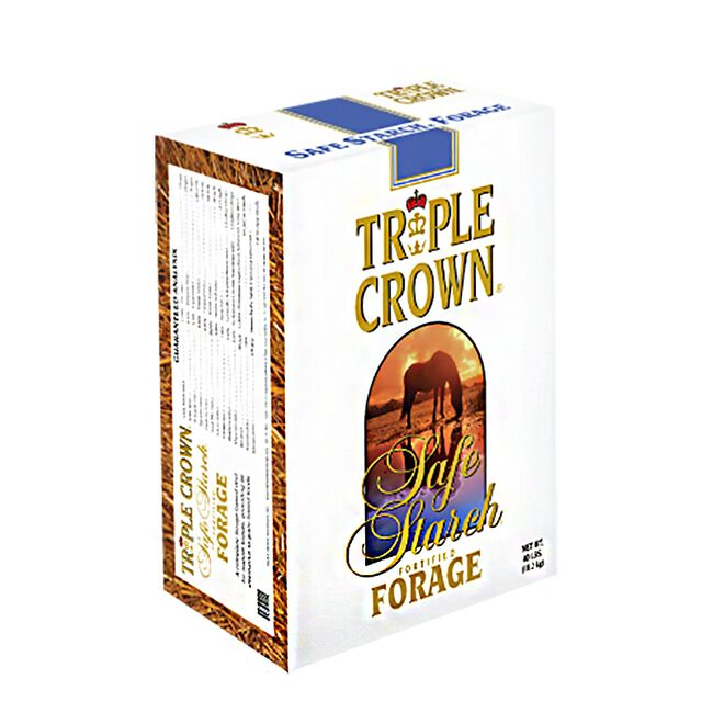 Triple Crown Safe Starch Forage  image number null