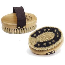 Horse shoe Body Brush