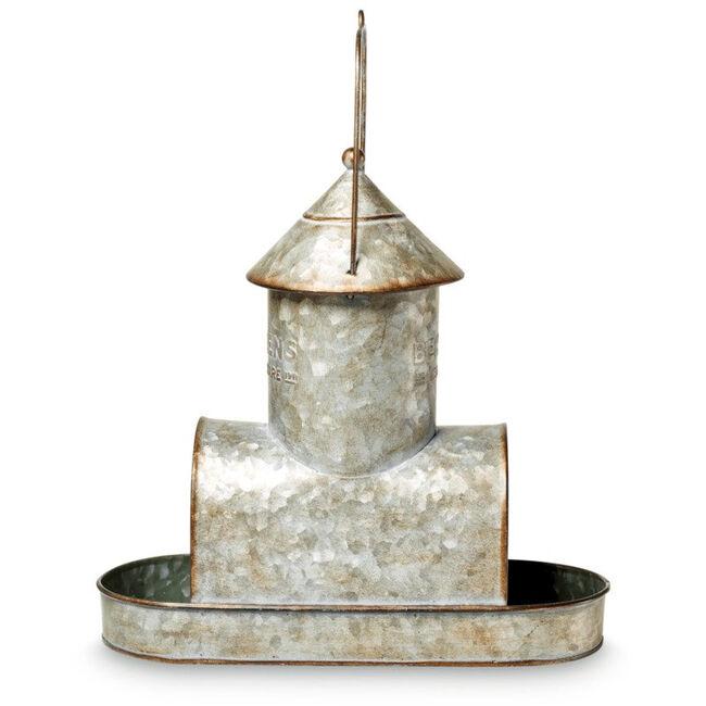 Behrens Galvanized Steel Bird Feeder image number null