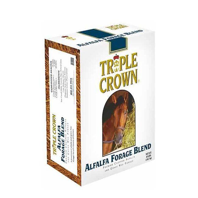 Triple Crown Premium Alfalfa Forage Forage Blend 40lb  image number null