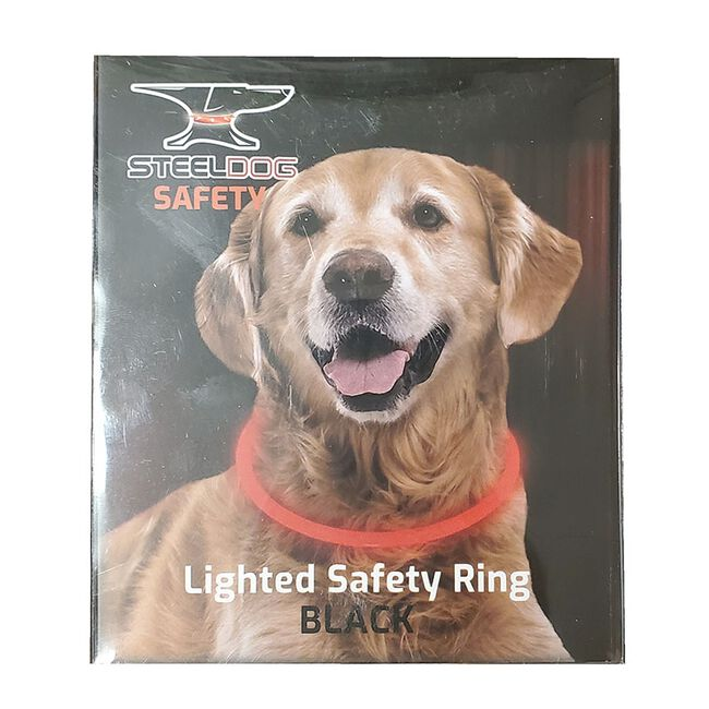Steel Dog Safety Lighted Silicone Safety Ring image number null