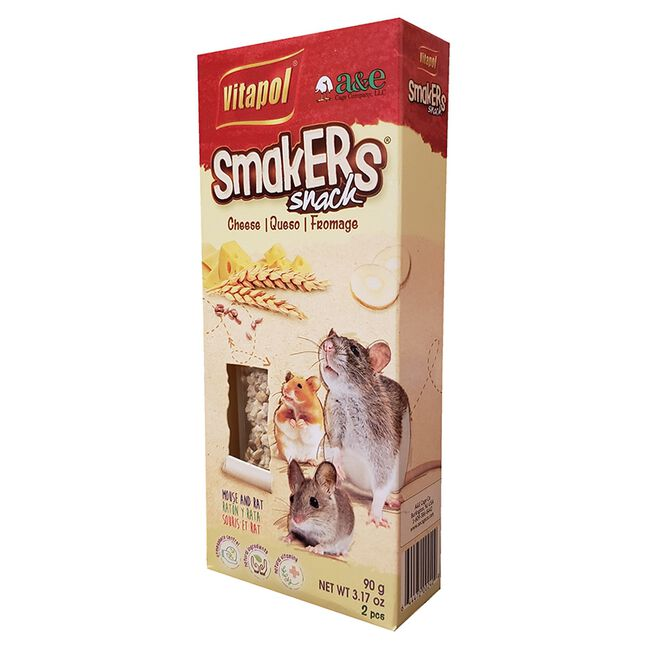 Vitapol Smakers Cheese Snack for Mice & Rats image number null