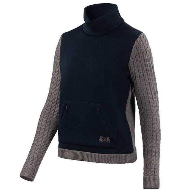 B Vertigo Jeanette Women's Knitted Pullover-Dark Navy image number null