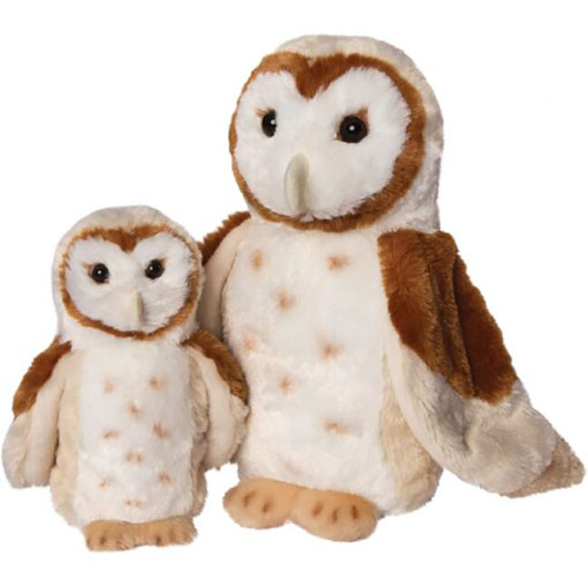 Douglas Swoop Barn Owl Plush Toy image number null