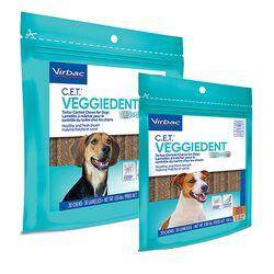 Virbac C.E.T. VeggieDent Tartar Control Chews for Dogs