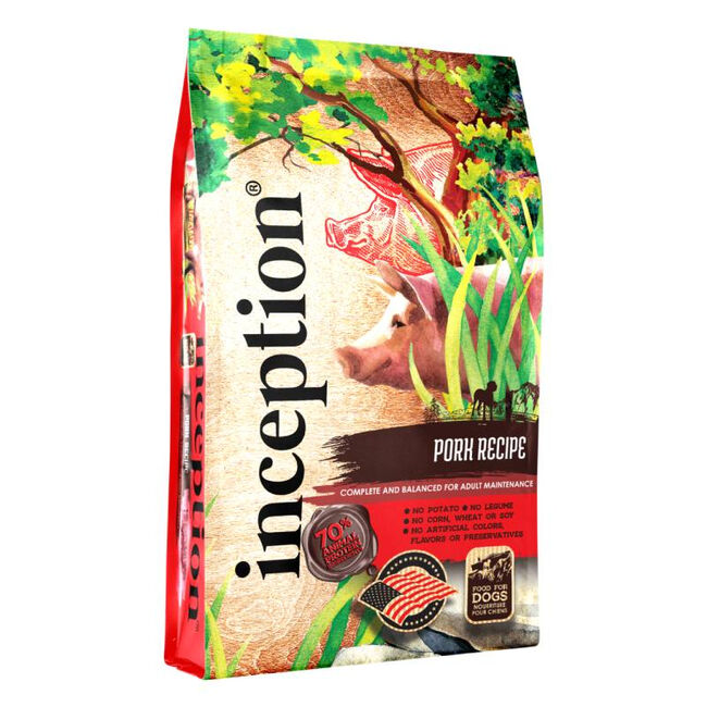 Inception Pet Food Pork Recipe Dry Dog Food image number null