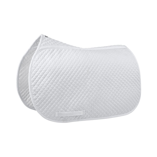 EquiFit Essential Square All Purpose Saddle Pad - White image number null