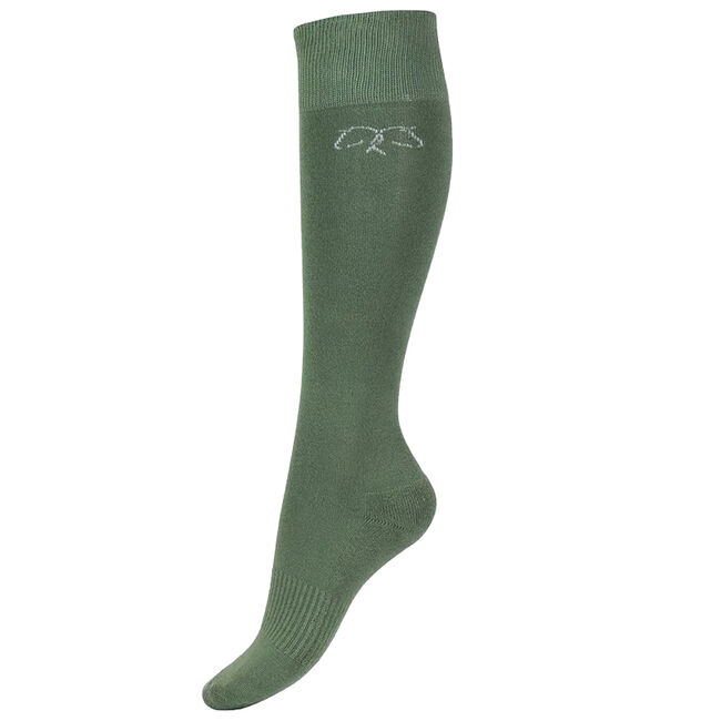 Horze Phoebe Winter Sock - Loden Green image number null