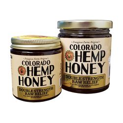 Colorado Hemp Honey for People & Pets - Double Strength Raw Relief