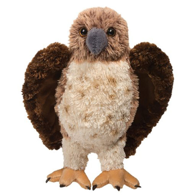 Douglas Orion Red Tail Hawk Plush Toy image number null