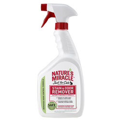 Nature's Miracle Just for Cats Stain & Odor Remover Spray