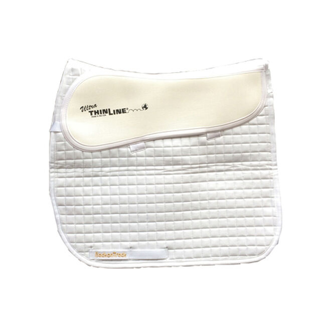 Back On Track ThinLine Contender II Dressage Therapeutic Pad-White image number null