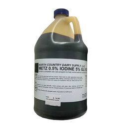 North Country Dairy Supply Iodine 5% 1 Gallon