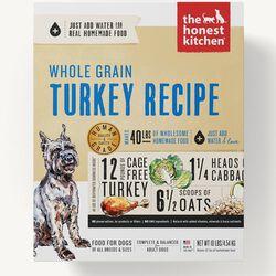 The Honest Kitchen Turkey Whole Grain Dog Food