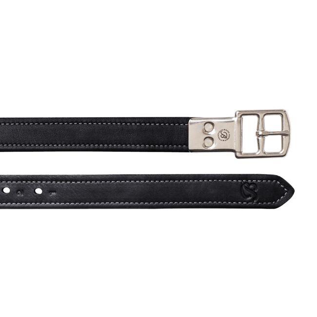 Bates Heritage Leather Stirrup Leathers - Black image number null