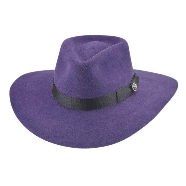 Bullhide Street Gossip in Purple Western Hat image number null