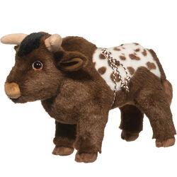 Douglas Tornado Bull Plush Toy
