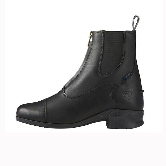 Ariat Heritage IV Zip H2O Paddock Boot-6-Black image number null