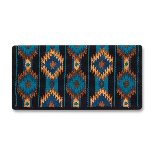 Mayatex 2x2 Saddle Blanket - Turquoise image number null