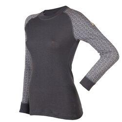 Janus Women's Crescent Patterned Wool Design Shirt