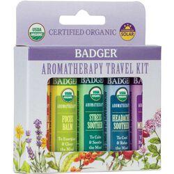 Badger Aromatherapy Travel Kit