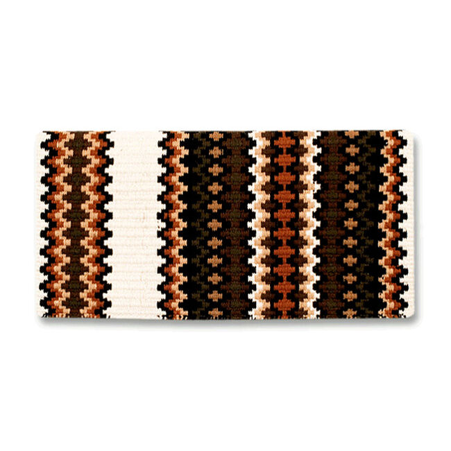 Mayatex Gemini Saddle Blanket - Chestnut image number null