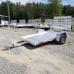 High Country 2020 72 x 10 Utility Trailer with Aluminum Flooring