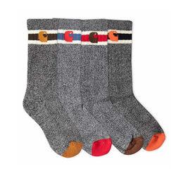 Carhartt Boy's Camp Socks 6 Pack