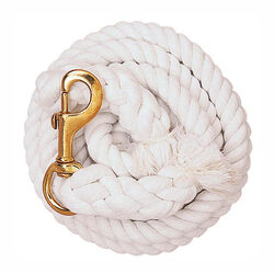 Weaver Cotton Lead Rope With Brass Snap