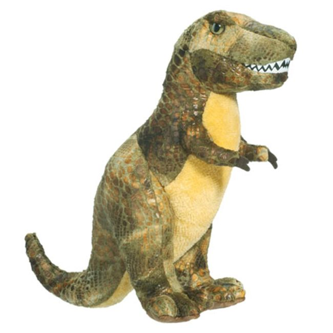 Douglas Small T-Rex Plush Toy image number null