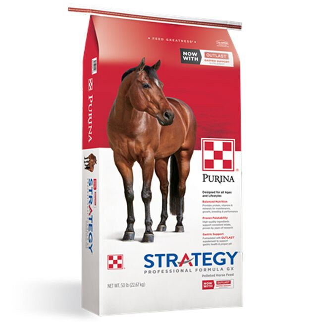 Purina Strategy Professional Formula GX Horse Feed image number null