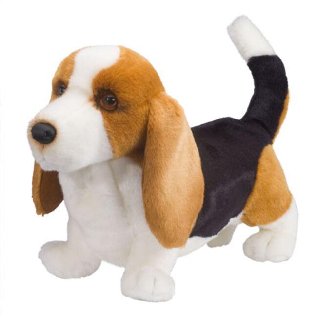 Douglas Harold Basset Hound Plush Toy image number null