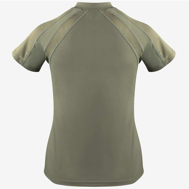 Horze Aliza Women's Training Shirt-Ashen Clay-4 image number null