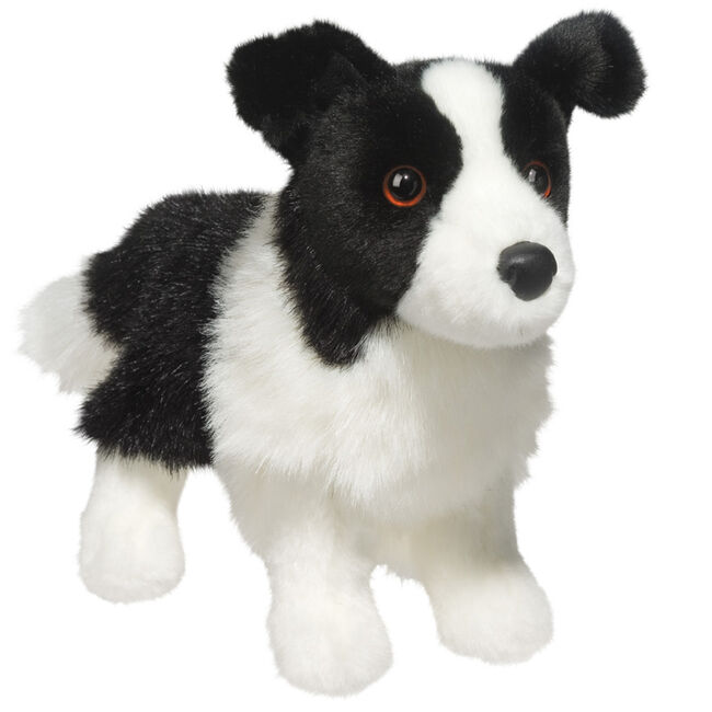Douglas Zippy Border Collie Plush Toy image number null