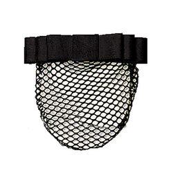 Perri's Plain Black Show Bow Hair Net