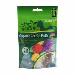 Multipet Catnip Garden Organic Catnip Puffs