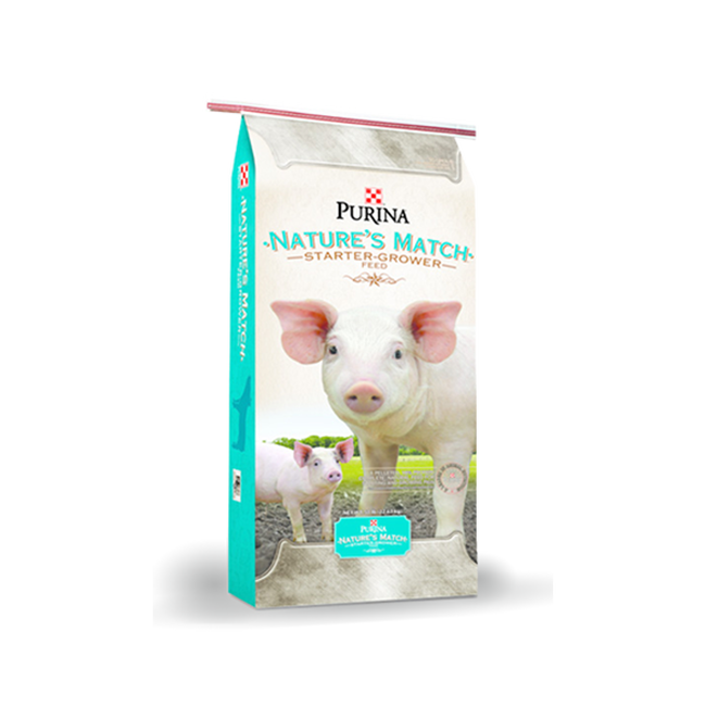 Purina Mills Nature's Match Starter-Grower image number null