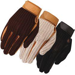 Heritage Crochet Riding Gloves