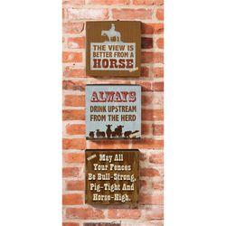 Horse Wooden Plock