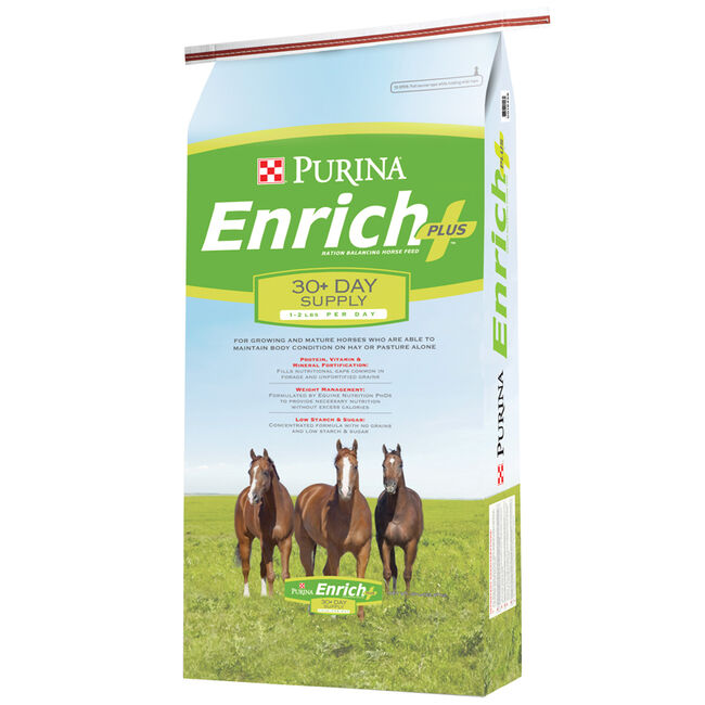 Purina Enrich Plus Ration Balancing Feed image number null