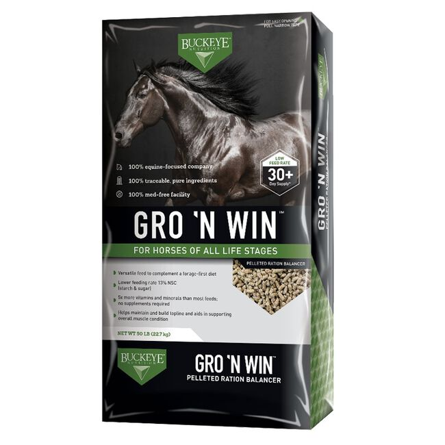 Buckeye Gro 'N Win Horse Feed image number null