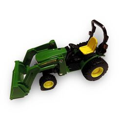 John Deere 1:32 Front Loader Tractor Toy