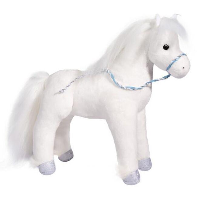 Douglas Starry Night White Horse Plush Toy image number null