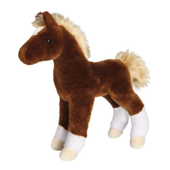 Douglas Teak Chestnut Foal Plush Toy image number null