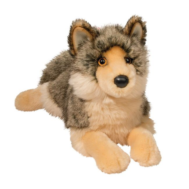 Douglas Alder Wolf Toy image number null