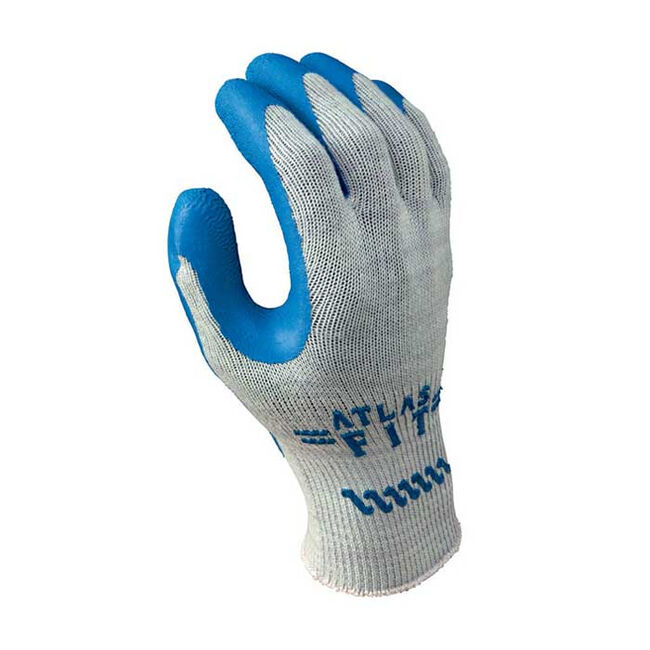 Atlas Fit 300 Unisex Indoor/Outdoor Rubber Latex Coated Work Gloves image number null